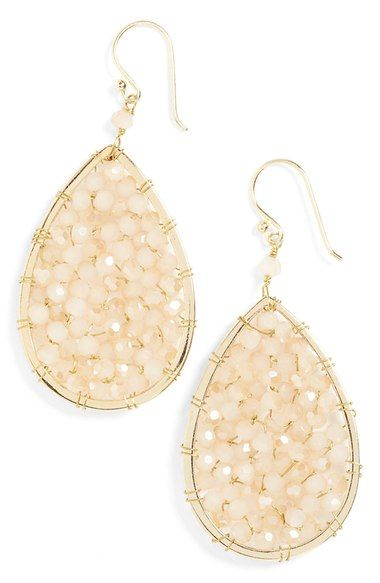 Panacea Crystal Teardrop Earrings available at Nordstrom Wedding