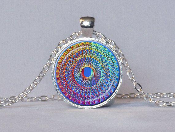 Sacred geometry pendant multicolor rainbow by thependantgarden sacred geometry pendant multicolor rainbow by thependantgarden 1445 aloadofball Gallery