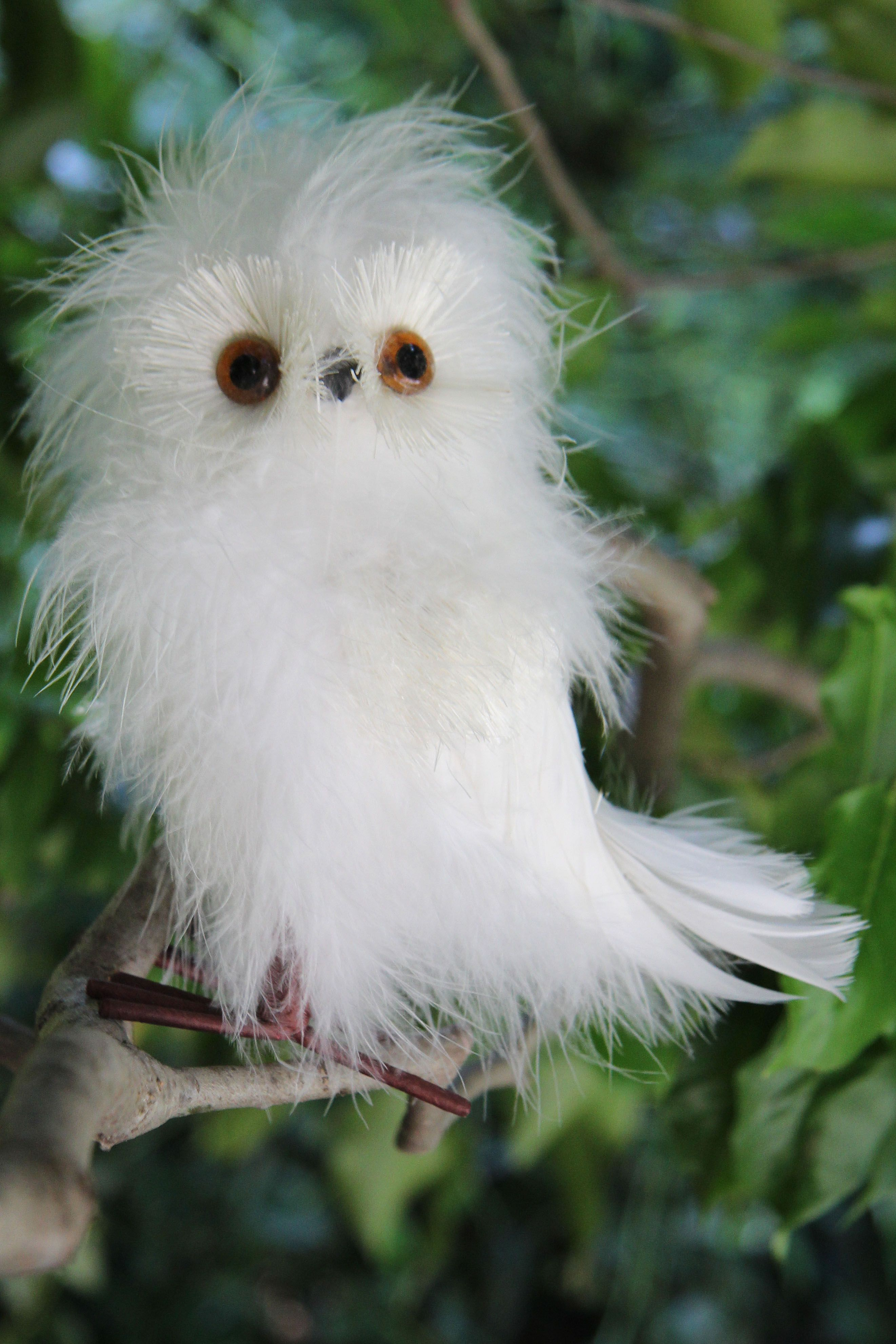 This Fluffy Owl Would Be Adorable Tucked Into A Halloween