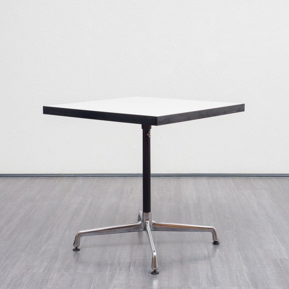 Dining Table By Charles Ray Eames For Vitra 1950s Table