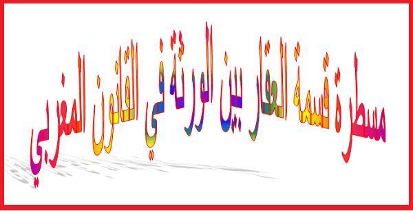 قسمة العقار بين الورثة في القانون المغربي Wind Sock Blog Posts Blog