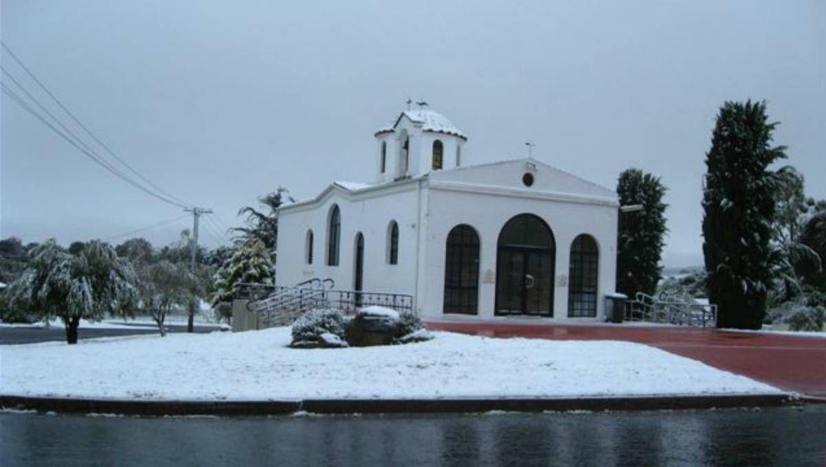 Goulburn snow NSW Photo: Allan Bensley - Greek Orthodox