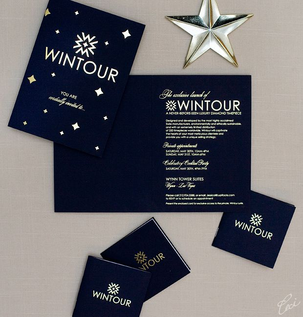 Wintour Launch Party Invitations