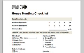A Home Buying Checklist Organize Your Wants And Needs What To