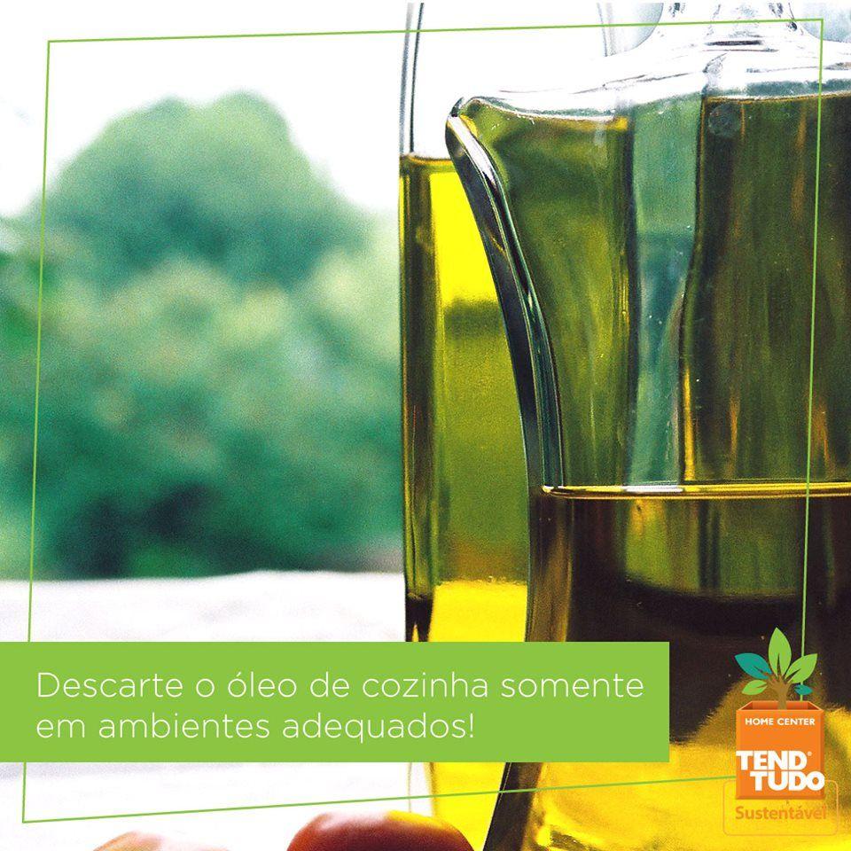 O óleo de cozinha é um dos alimentos mais nocivos ao meio ambiente. Jogado no ralo da pia, ele termina contaminando rios e mares. Como reciclar: colocar o óleo em garrafas PET bem vedadas e entregá-las a uma das várias organizações especializadas nesse tipo de reciclagem, assim o óleo reciclado pode virar biodiesel.