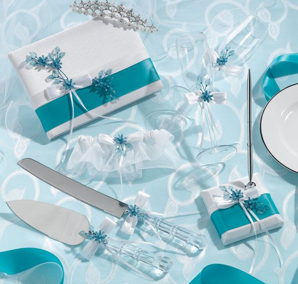 teal wedding centerpieces - Google Search