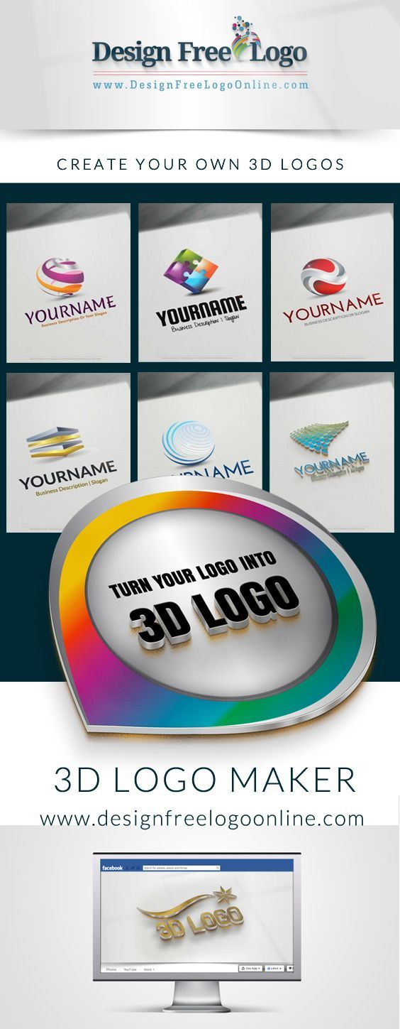 Create 3d Logo Online With Free Logo Maker With 1000s Of Templates