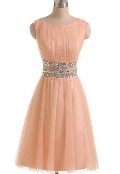 Sparkly Simple Short Prom Dresses,Close Back Beaded Homecoming Dresses,Party Dresses,Graduation Dresses