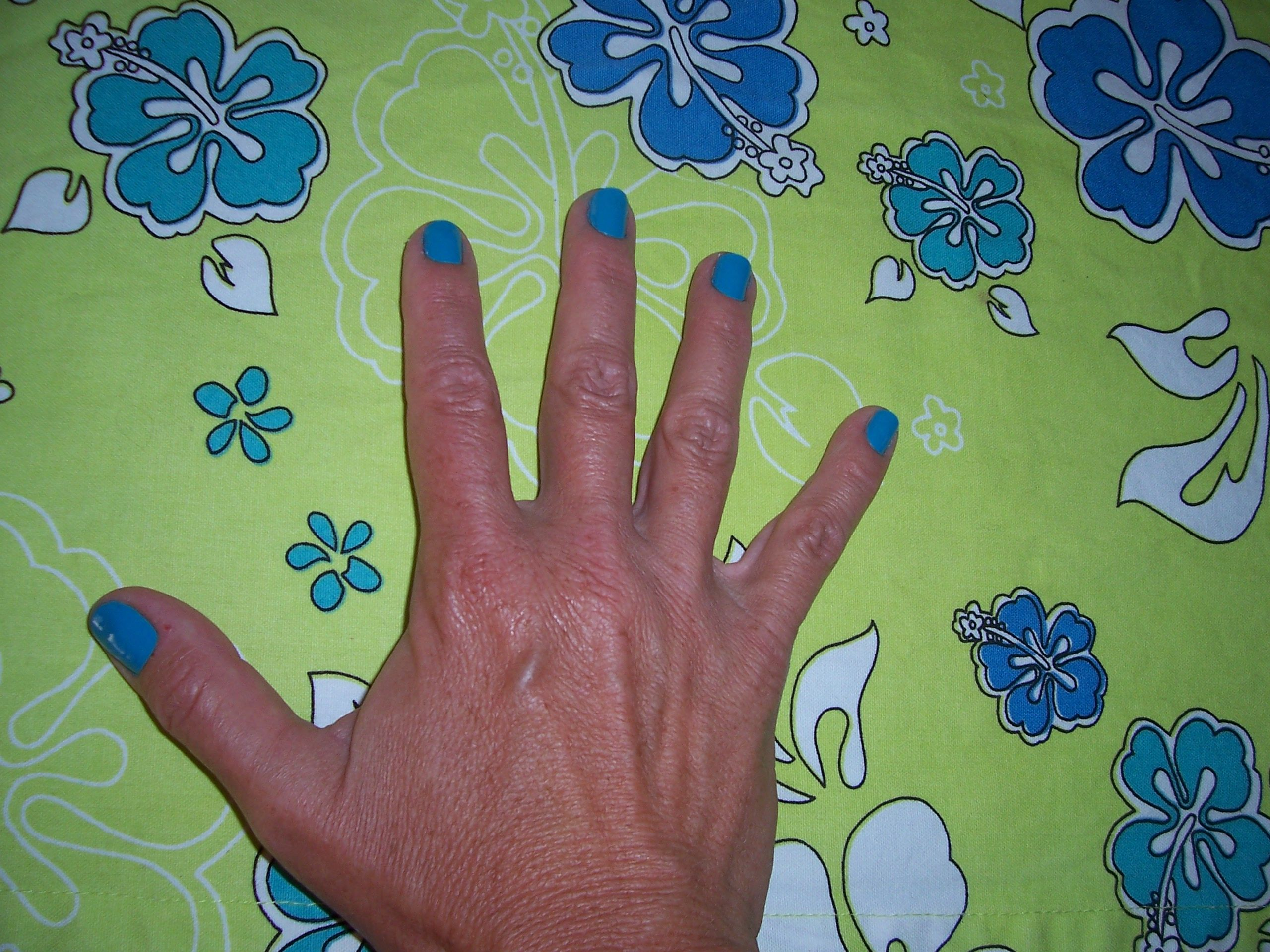 love this color....& price! Confetti brand Bayou Blue...for 2 bucks at CVS!