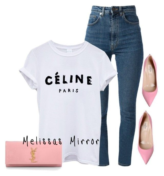 """""""'CASUALS' by Melissa's Mirror"""" by melissas-mirror ❤ liked on Polyvore featuring Valentino and Yves Saint Laurent"""