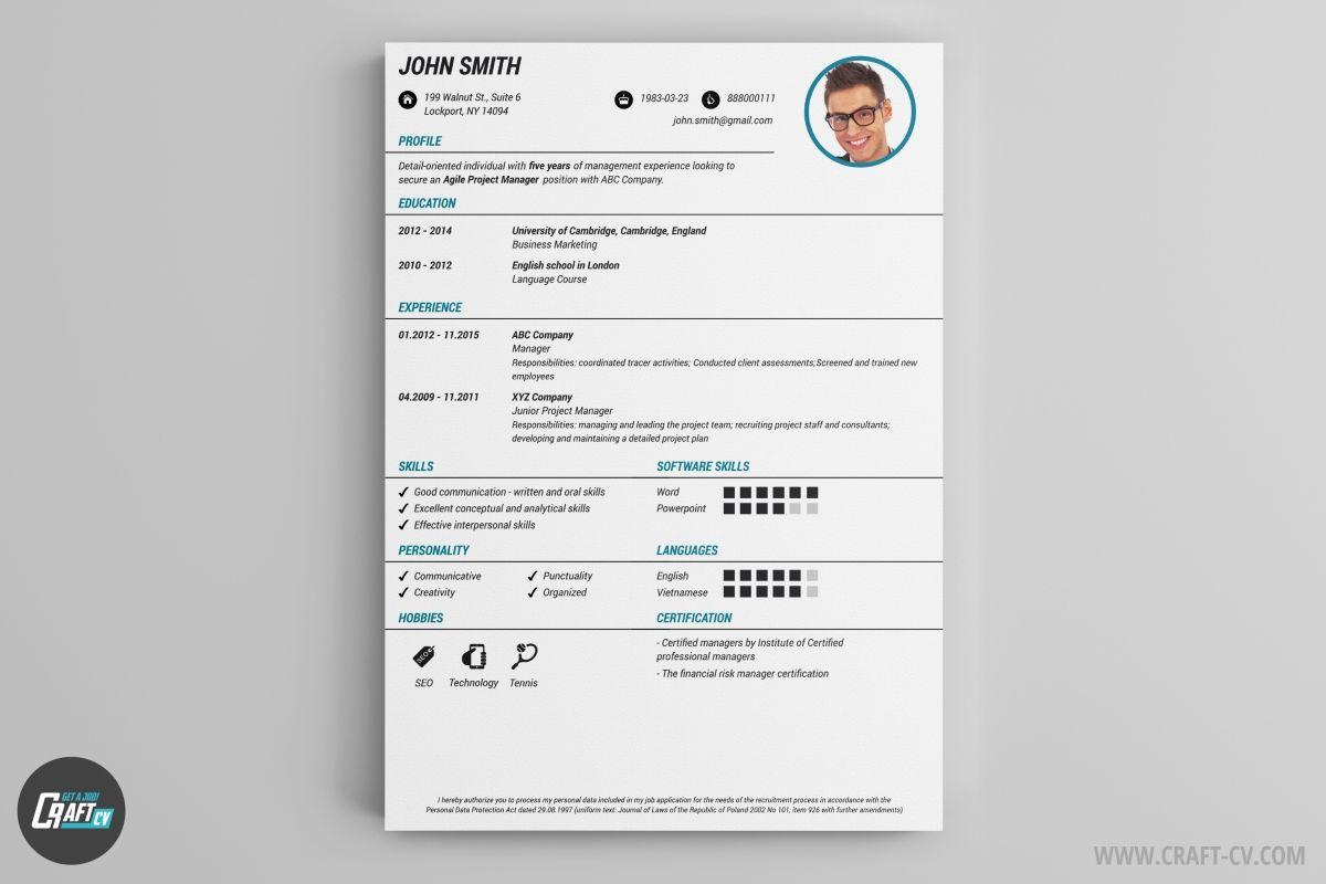 Resume Builder +36 Resume Templates [Download] CraftCv