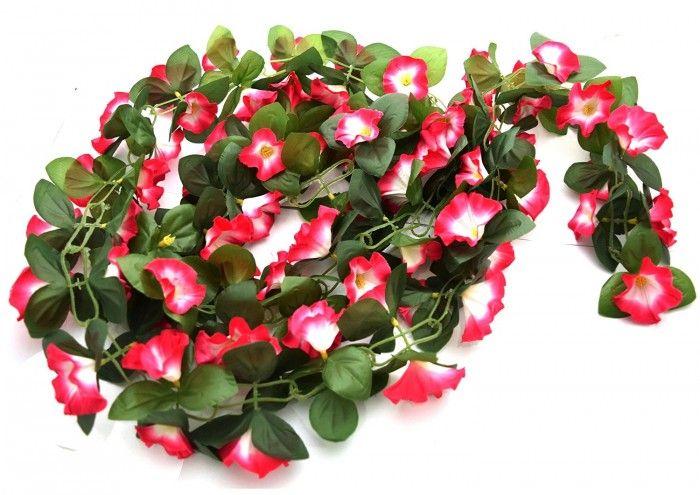 Buy Artificial Hibiscus Floral Bale (Dark Pink) Online