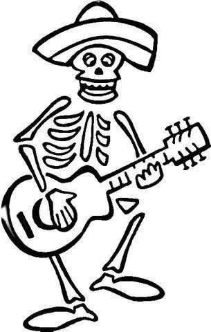 Resultado de imagen para dia de los muertos catrina coloring page - copy dia de los muertos mask coloring pages