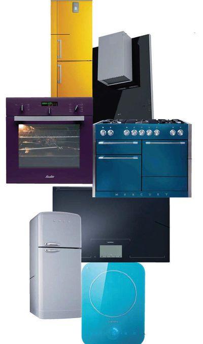 Réfrigérateur, Micro-ondes, Lave-linge, Lave-vaisselle