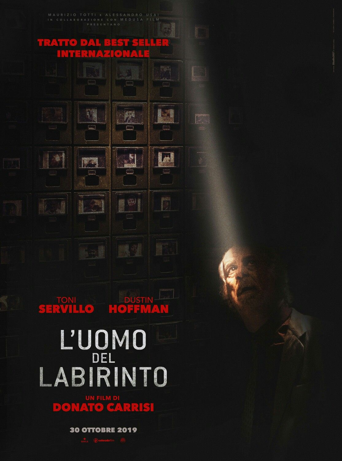 New Poster For The Italian Thriller Into The Labyrinth L Uomo Del