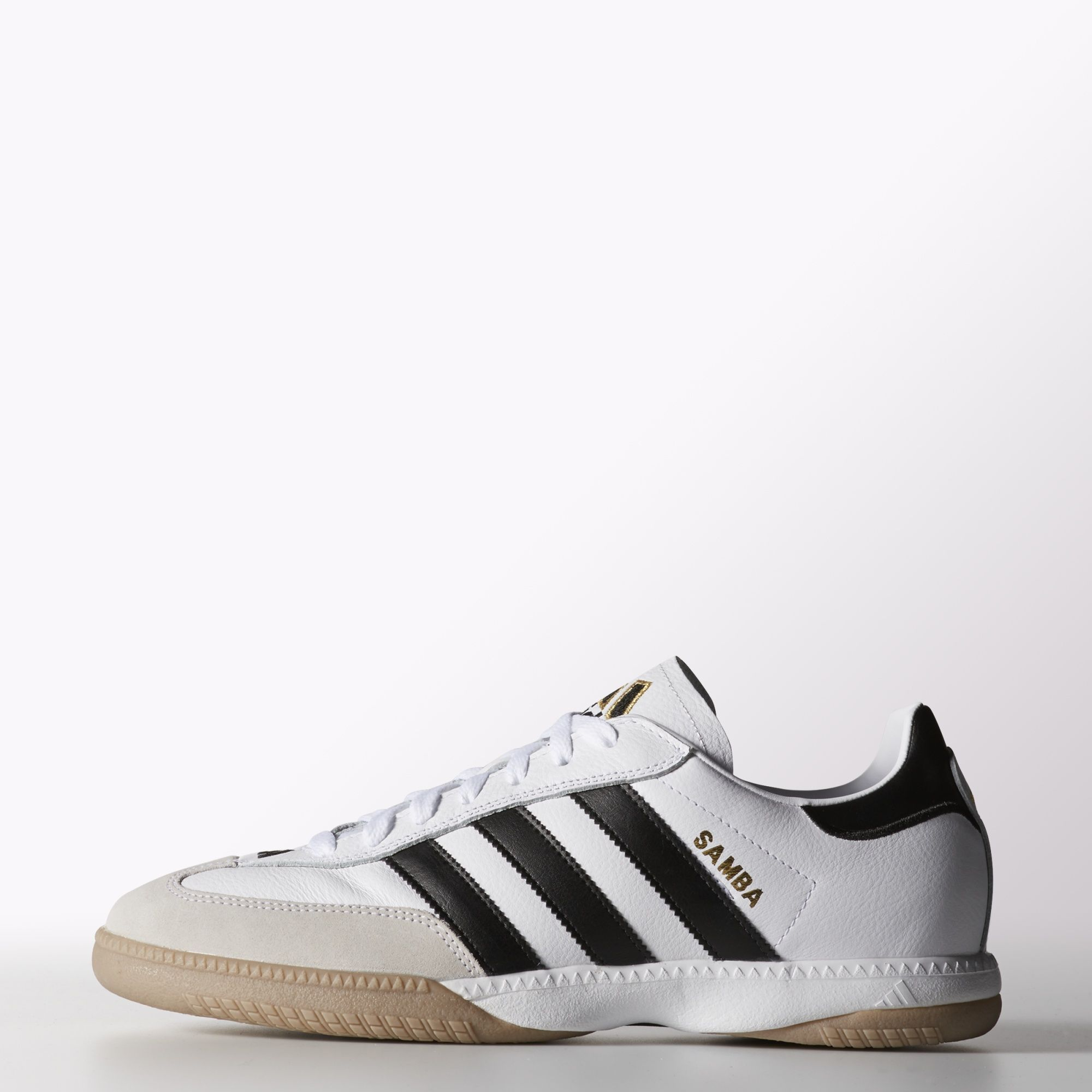 adidas Samba Millennium Leather IN Shoes - White | adidas US