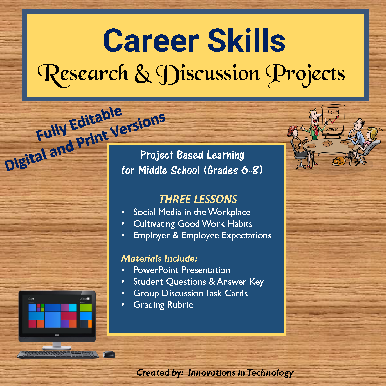 Career Skills Research and Discussion Projects | Career