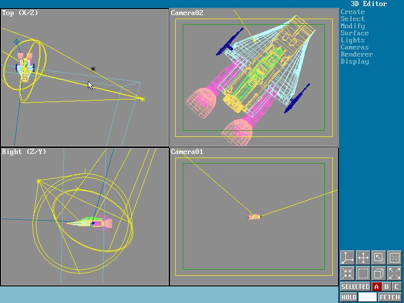 3D Studio (DOS) - Yost Group - 3d animation   LEGACY 3D   3d