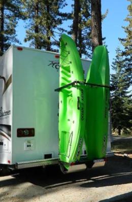 2kr37w 2 Kayaks Or Wind Surfboards Rv Rack Fifth Wheels Or