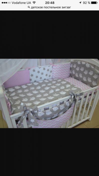Архив  Бортики(защита )в кроватку.Детское постельное белье d1368ef31a601