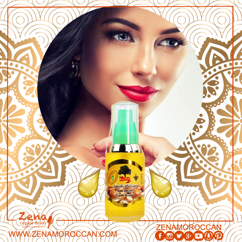 زيت الارجان المغربي الخام Moroccan Oil Treat Hair Loss Oils
