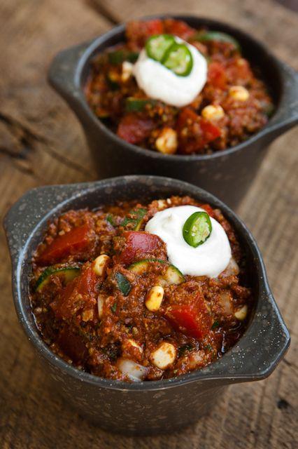 Homestyle Chili from raw food expert, Judita Wignall # ...