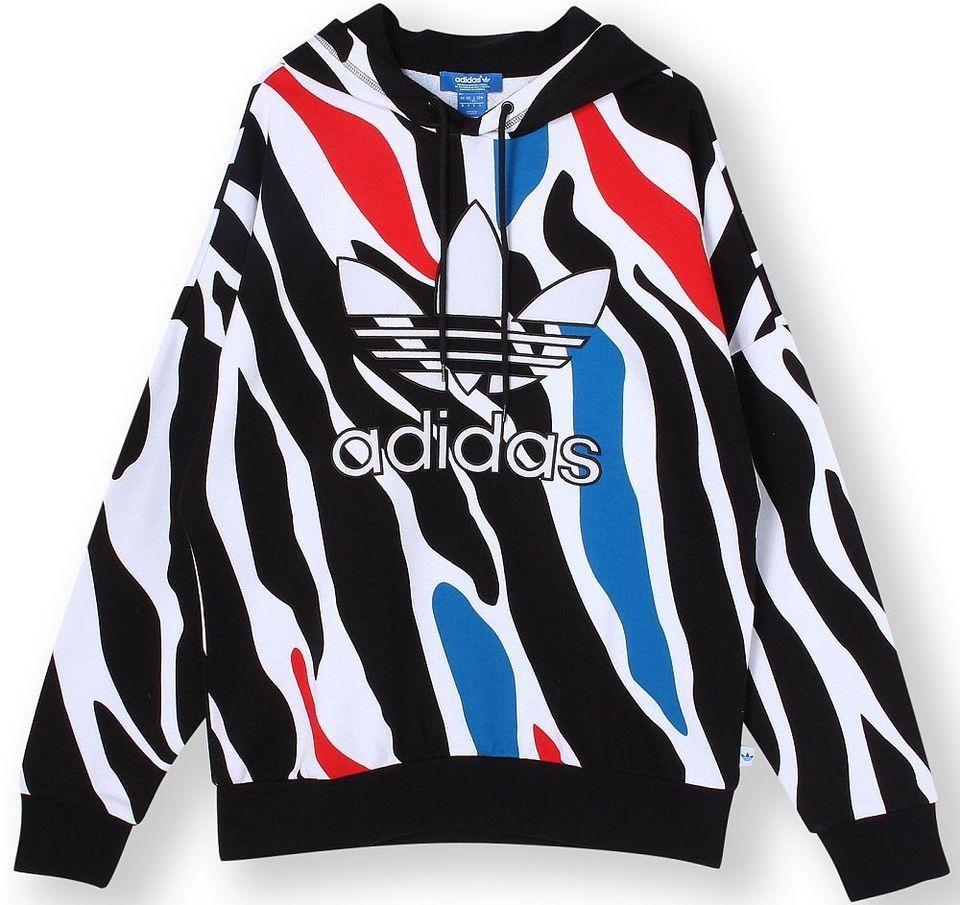 adidas hoodie zebra