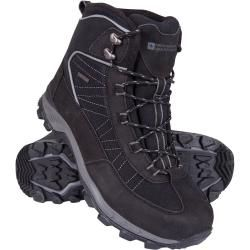 Photo of Boulder Men's Winter Trekking Boots – Gray Mountain WarehouseMountain Warehouse