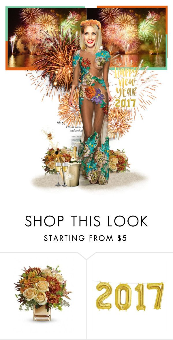 """""""Happy New Year 2017"""" by annynavarro ❤ liked on Polyvore featuring Haze"""