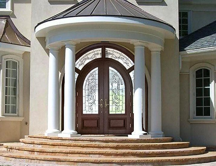 Amazing Grand Front Doors #4: Estate Grand Exterior Front Entry Door