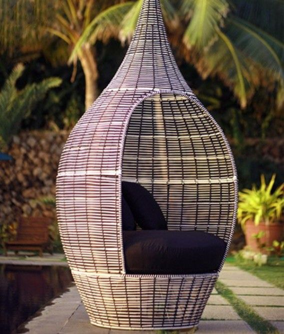 Patio Rattan Outdoor Furniture tressage Pinterest Rattan - Balou Rattan Mobel Kenneth Cobonpue