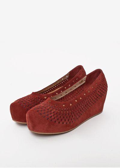 Coco shoes – brick