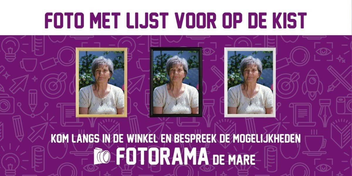 73a67f5eb48 FOTO met LIJST voor op de kist | Koopplein Alkmaar - Kist en Foto