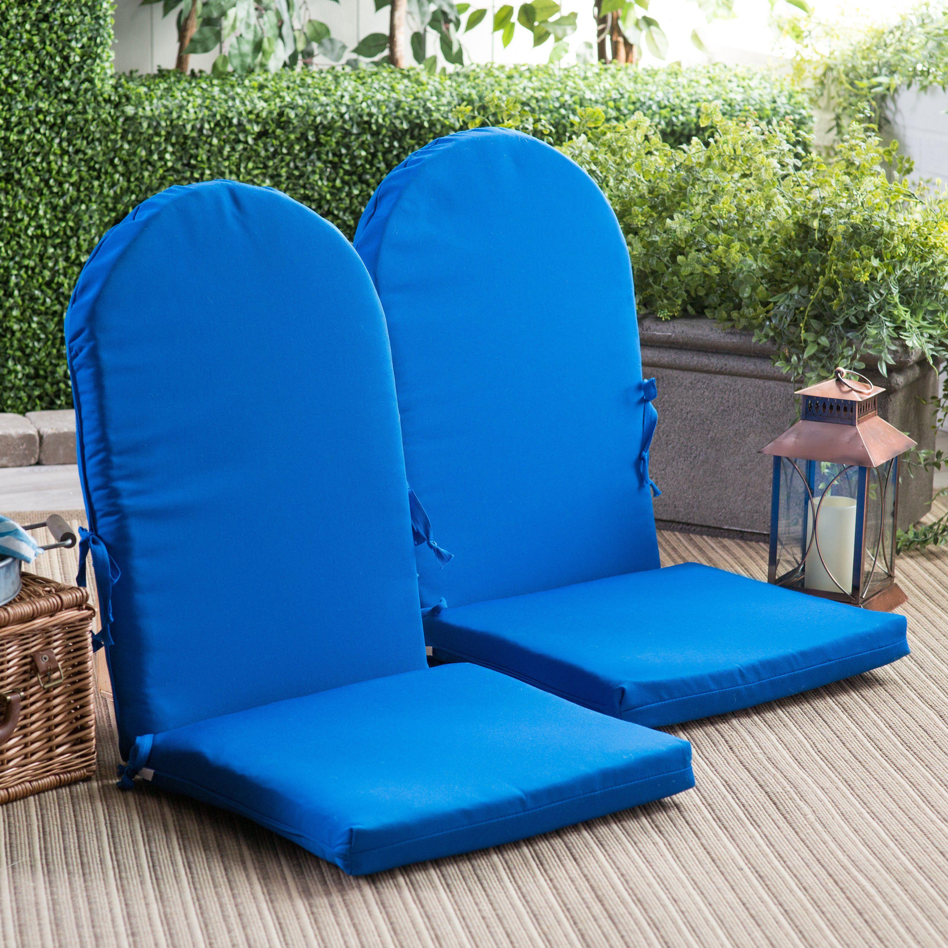 Polywood Sunbrella 46 X 40 In Adirondack Chair Cushion Masones