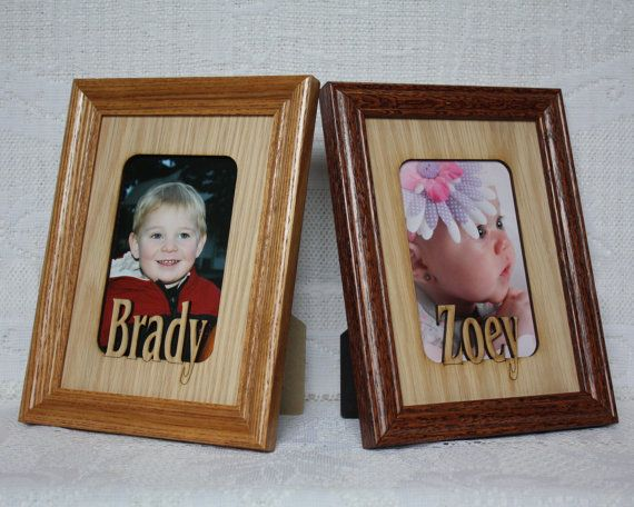 8x10 Custom Name Frame Personalized Picture By Jennysframeworks