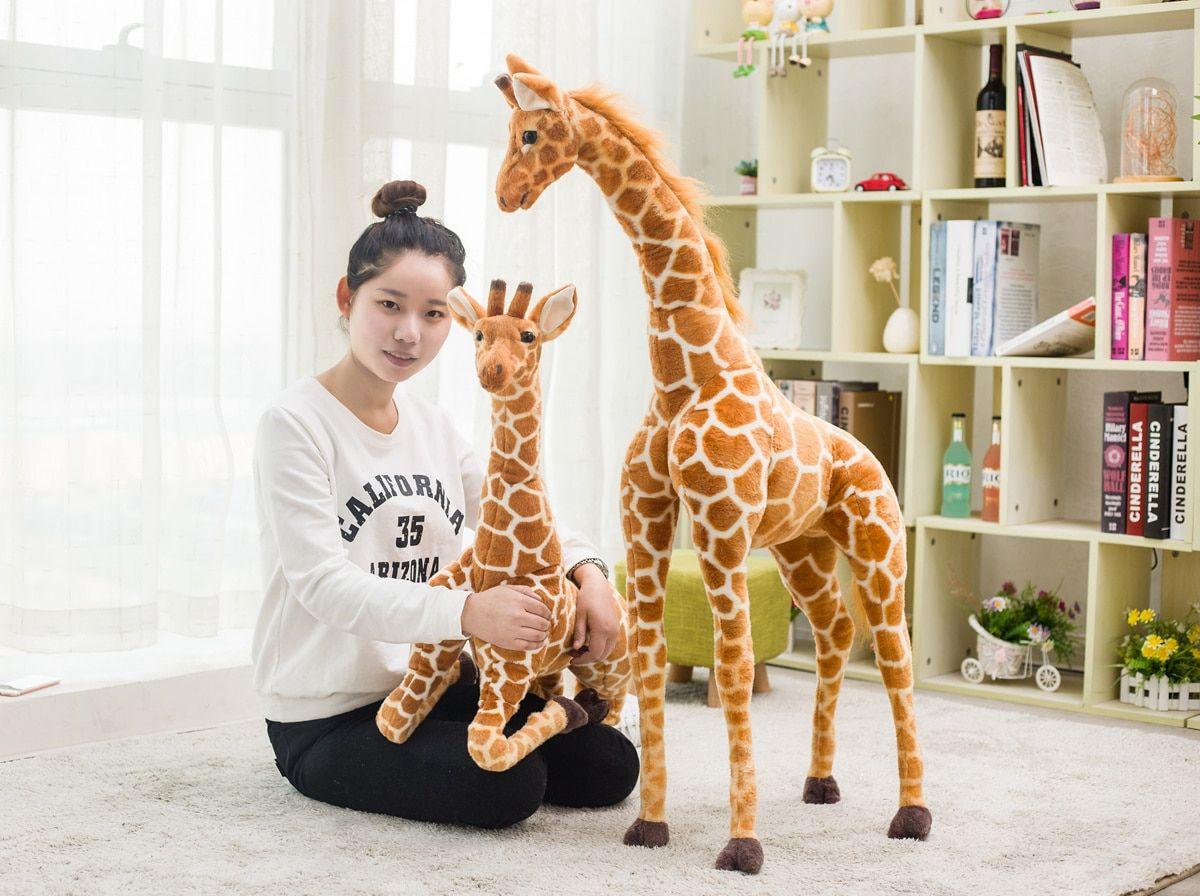 Birthday Gift Giraffe Stuffed Animal Giraffe Plush Cute Stuffed Animals [ 896 x 1200 Pixel ]