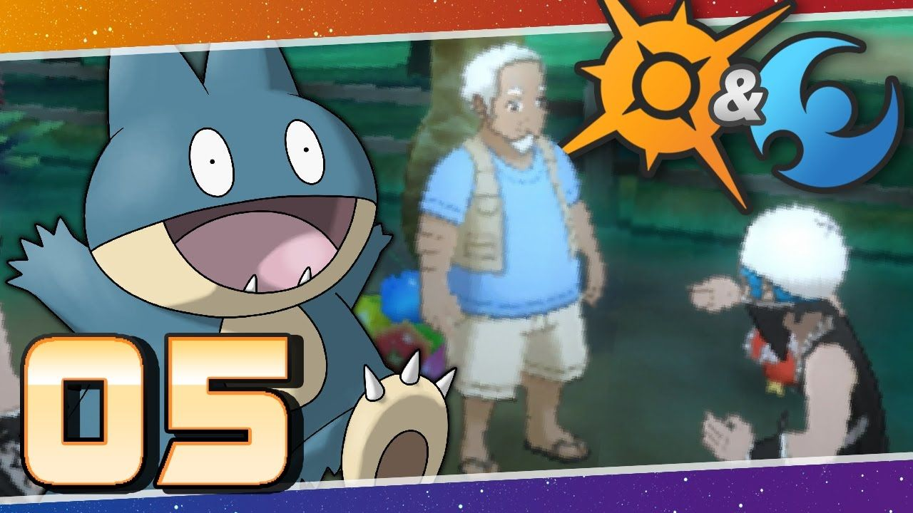 Pokémon Sun and Moon Episode 5 Munchlax and the Berry