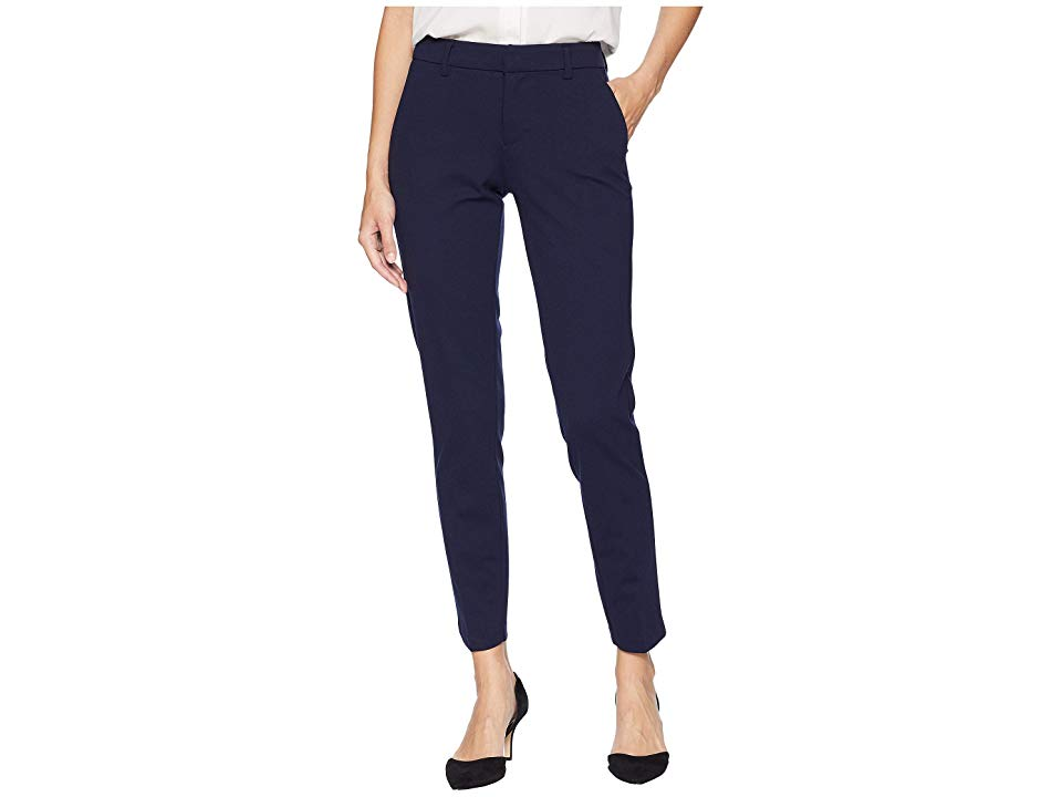 Liverpool Kelsey Slim Leg Trousers in Super Stretch Ponte Knit Cadet Blue Womens Casual Pants Maintain classic style in the workplace flaunting this Liverpool pant Midris...