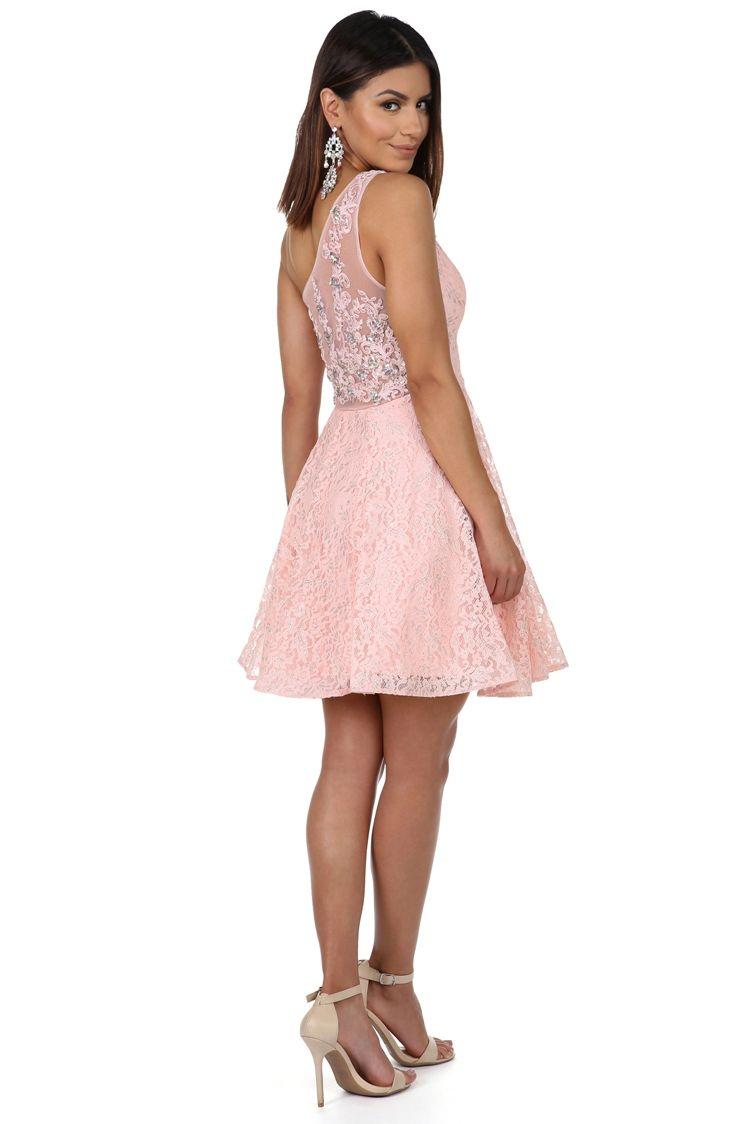 FINAL SALE- Alexandrina Pink Formal Dress | Pink formal dresses