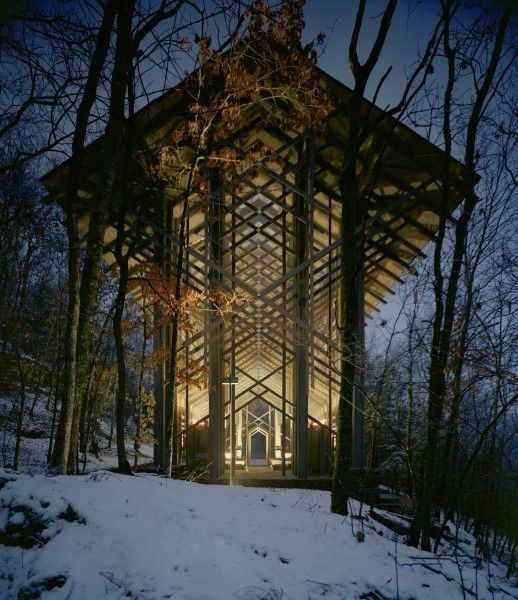 Was architect e fay jones a vulcan eureka springs for Jones architecture