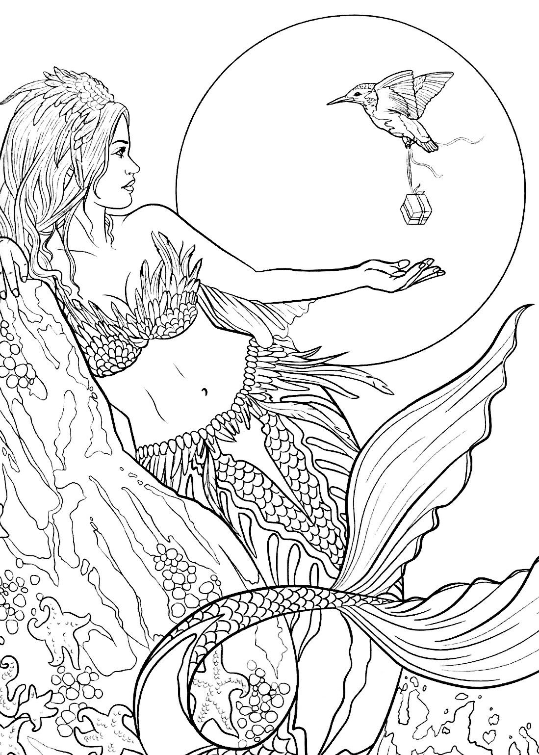 Pin by Cinthya Godoi on Coloring: Sirens Of The Sea ...