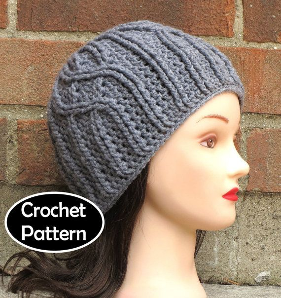 CROCHET HAT PATTERN Instant Pdf Download - Winterfell Cabled Beanie ...