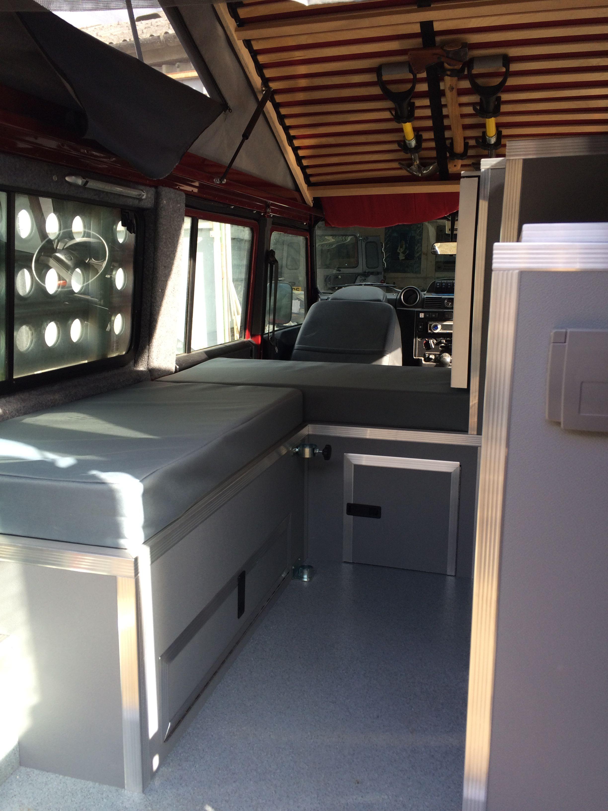 Defender Camper Interior Defender Camper Land Rover