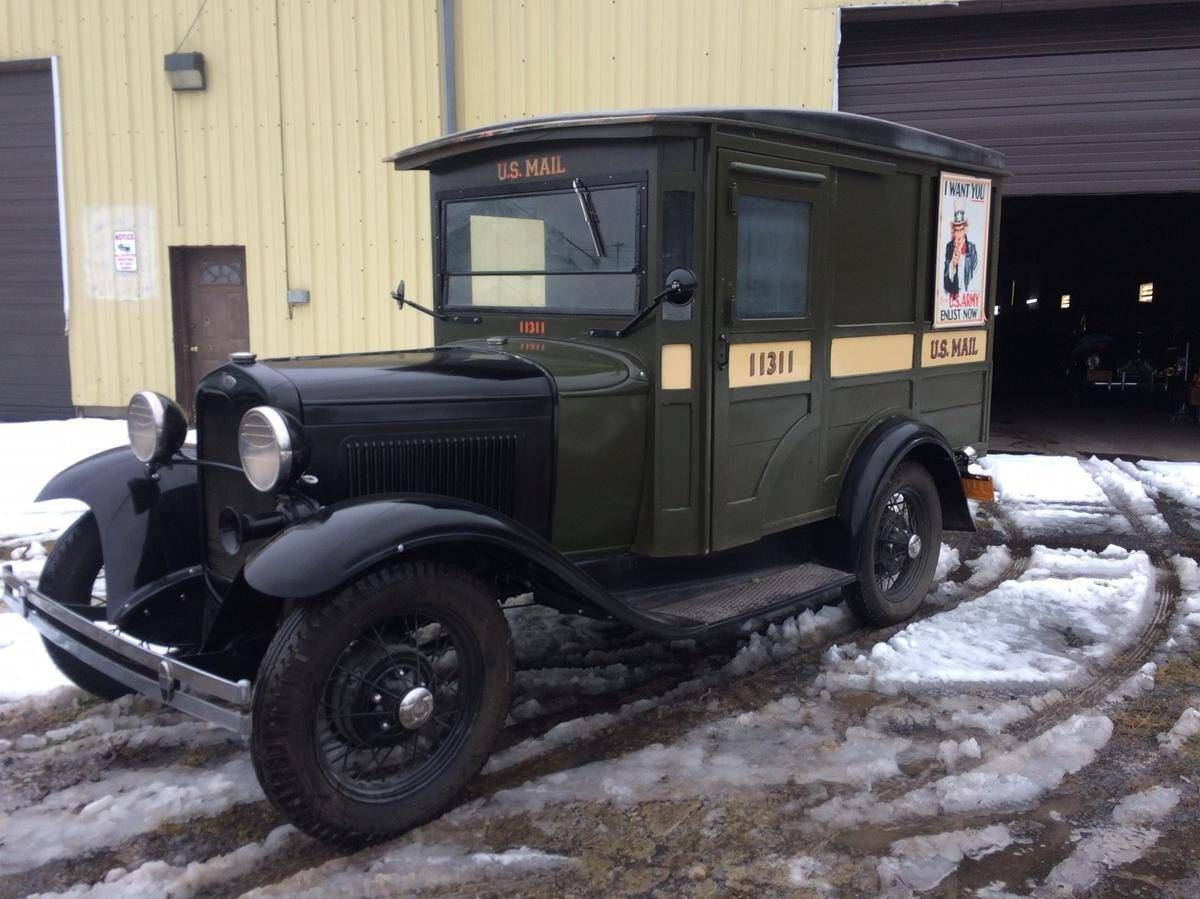 1931 ford model a mail truck for sale 1707618 hemmings motor news classic delivery vehicles. Black Bedroom Furniture Sets. Home Design Ideas