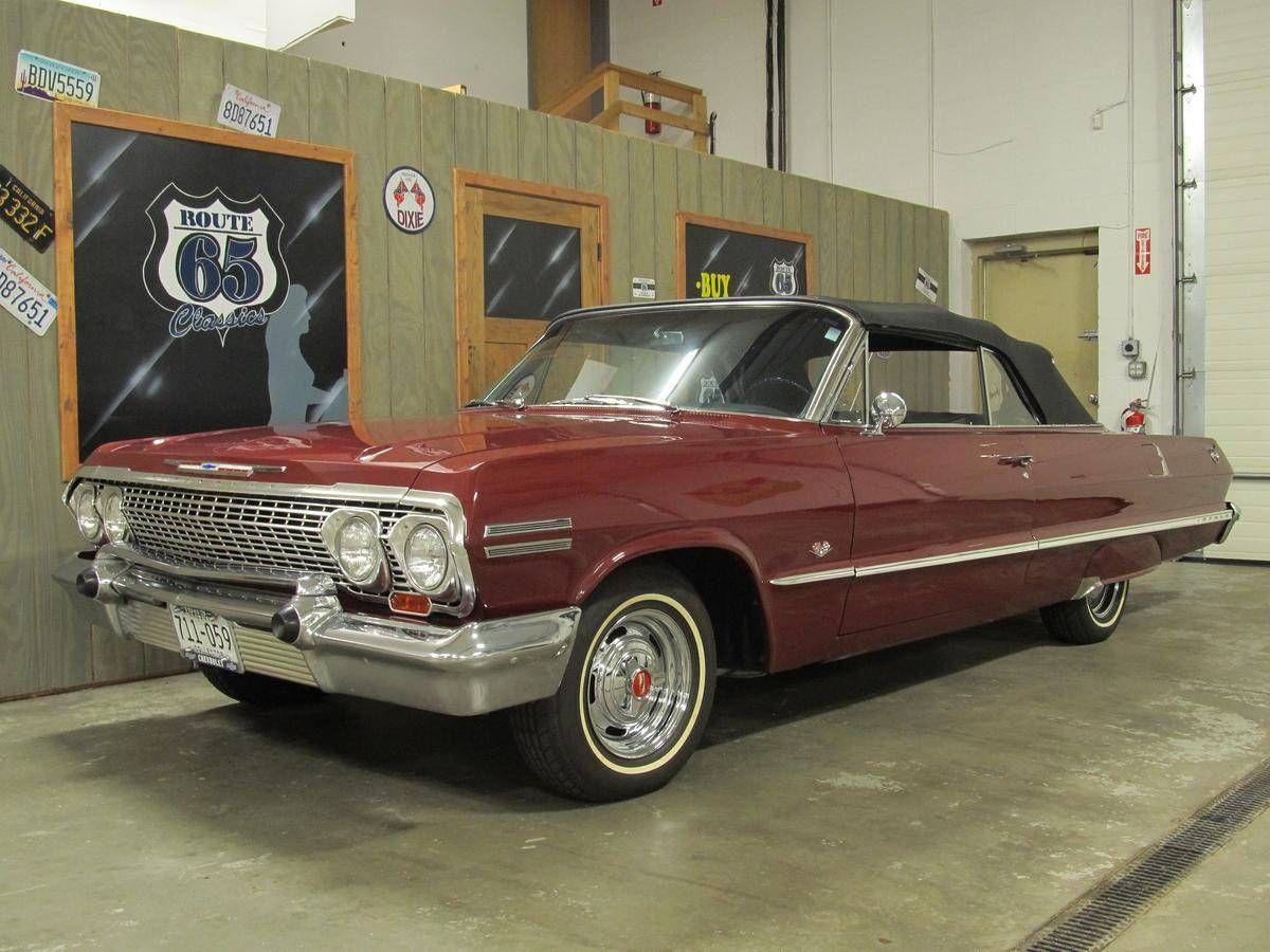 1963 Chevrolet Impala Chevrolet impala, Impala for sale