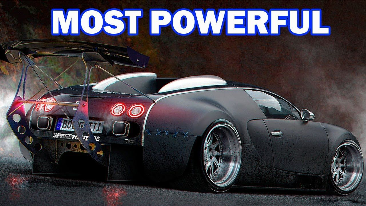 Top 7 Most Powerful Supercars In The World Cars Have Too Much Horsepower Bugatti Veyron Bugatti Voiture