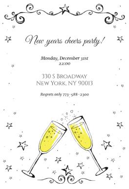 New Year Invitation New Year Invitation Template Free Greetings Island New Years Eve Invitations Printable Invitation Templates Party Invite Template