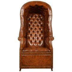 Best Victorian Mahogany And Leather Hall Porters Chair Wing Chair Wing Chair Porter Chair Chair 400 x 300