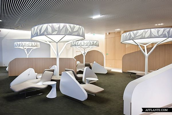 Air France Lounge // Noe Duchaufour-Lawrance