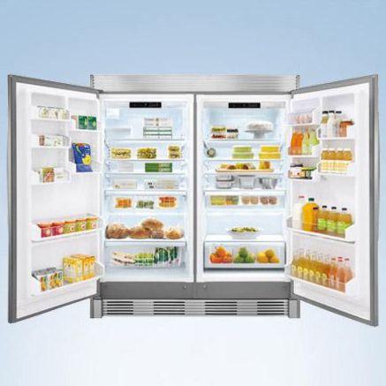 Kenmore Pro Refrigerator And Freezer Pair Tyres2c